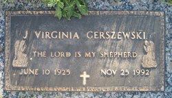 J. Virginia Gerszewski