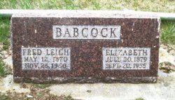 Fred Leigh Babcock