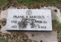 Frank Benzie Babcock