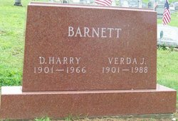 Verda Josephine <i>Sherry</i> Barnett
