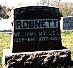 Mary Lomonia Mollie <i>Stansell</i> Robnett