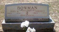 Joel Harrison Bowman