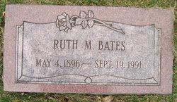 Ruth M <i>Sawtelle</i> Bates