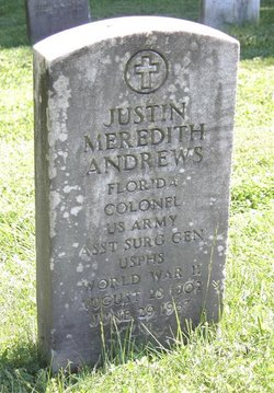 Col Justin Meredith Andrews