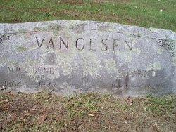 Edward D Van Gesen