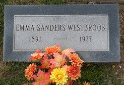 Emma D. <i>Sanders</i> Westbrook