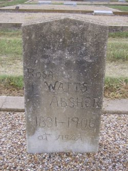 Rose Angeline <i>Watts</i> Absher