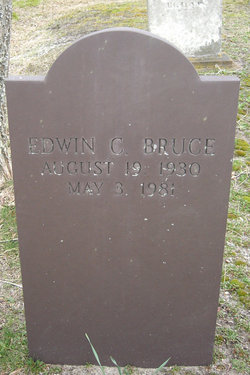 Edwin C Bruce