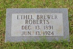 Ethel C <i>Brewer</i> Roberts