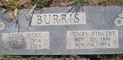 Lydia Irene <i>Cummins</i> Burris
