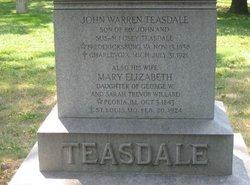 Mary Elizabeth <i>Willard</i> Teasdale