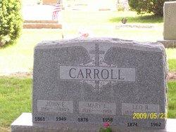 John E Carroll