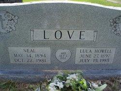Lula Ovenia <i>Howell</i> Love