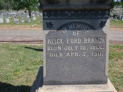 Alice L <i>Ford</i> Branch