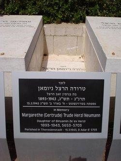 Margarethe Gertrude <i>Herzl</i> Neumann