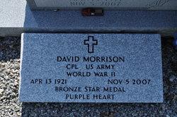 Corp David Morrison