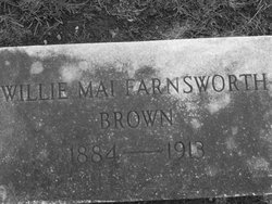 Willie Mai <i>Farnsworth</i> Brown
