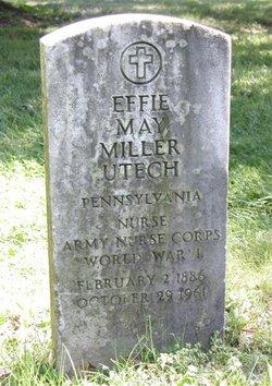 Effie May <i>Miller</i> Utech