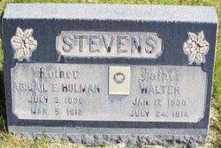 Abigail Elizabeth <i>Holman</i> Stevens