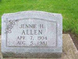 Jennie Hester <i>Chambers</i> Allen