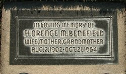 Florence M Benefield