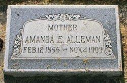 Amanda Elizabeth <i>Starr</i> Alleman
