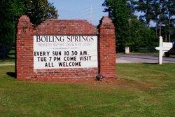 Boiling Springs Primitive Baptist Church Cemetery