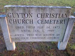 Guyton Christian Church Cemetery