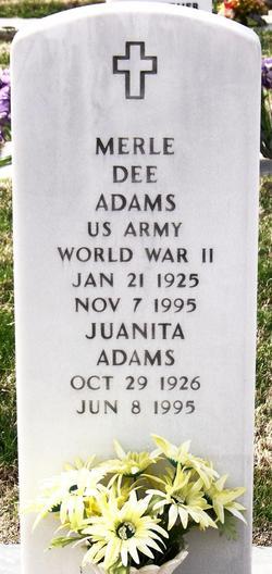 Merle Dee Adams