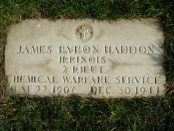 James Byron Haddon