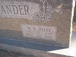 William Robert Bill Alexander