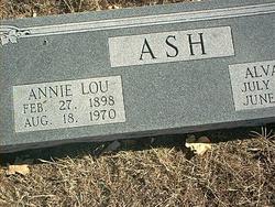 Annie Lou <i>Workman</i> Ash
