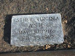 Ester Virginia Ash