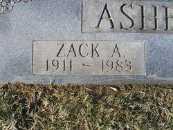 Zack A. Ashburn