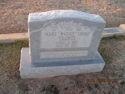 Mary Wootie <i>Crump</i> Clonts