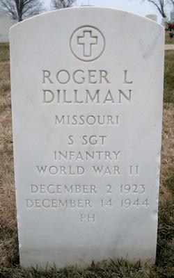 Sgt Roger L Uncle Rog Dillman
