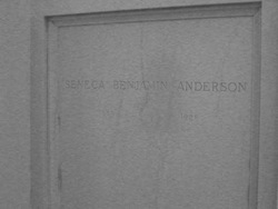 Seneca Benjamin Anderson