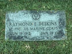 Pfc Raymond E Deskins, Sr