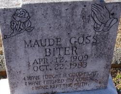 Maude <i>Goss</i> Biter