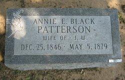 Annie E. <i>Black</i> Patterson