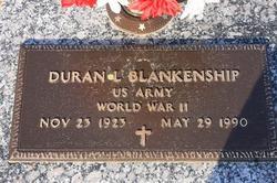 Duran L Blankenship