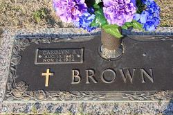 Carolyn J Brown