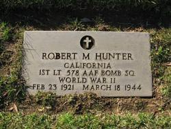 Robert M. Hunter