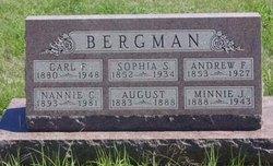 Minnie J Bergman