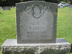 Sallie V. Warren