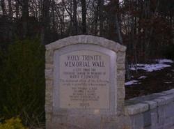 Holy Trinity Memorial Wall