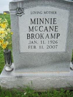 Minnie Elizabeth <i>McCane</i> Brokamp