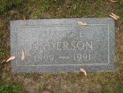 Anstis Elizabeth <i>Hubbard</i> Anderson