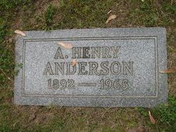 Adolph Henry Hank Anderson