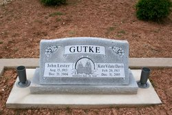 Kate Vilate <i>Davis</i> Gutke
